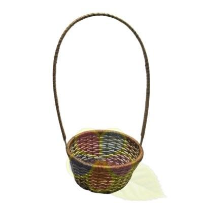 Плетеная корзина, артикул К0003
